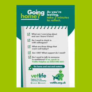 Vetlife Going Home Check List